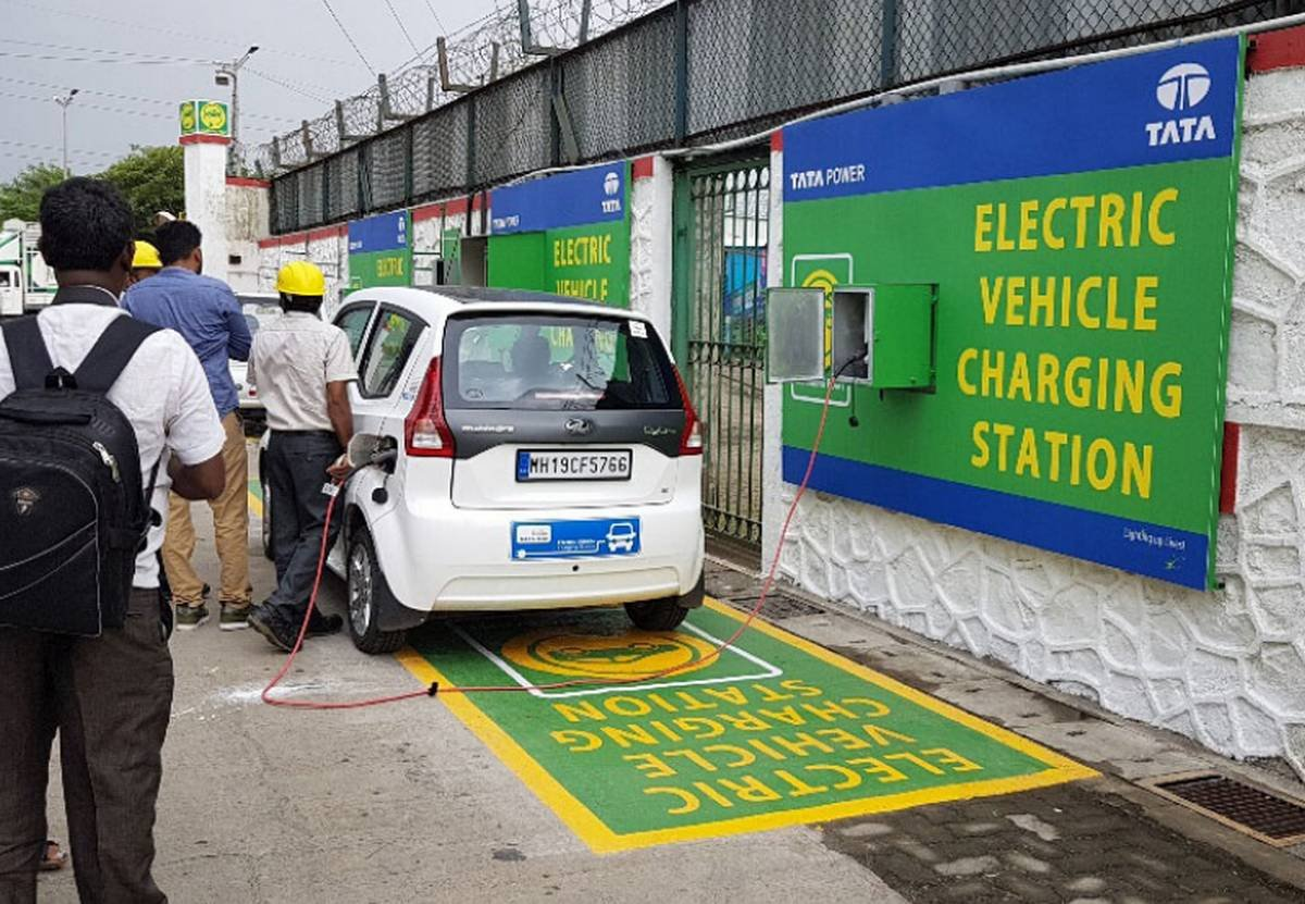 how to open an electric car charging station in india tata chargers at an electric charging stations