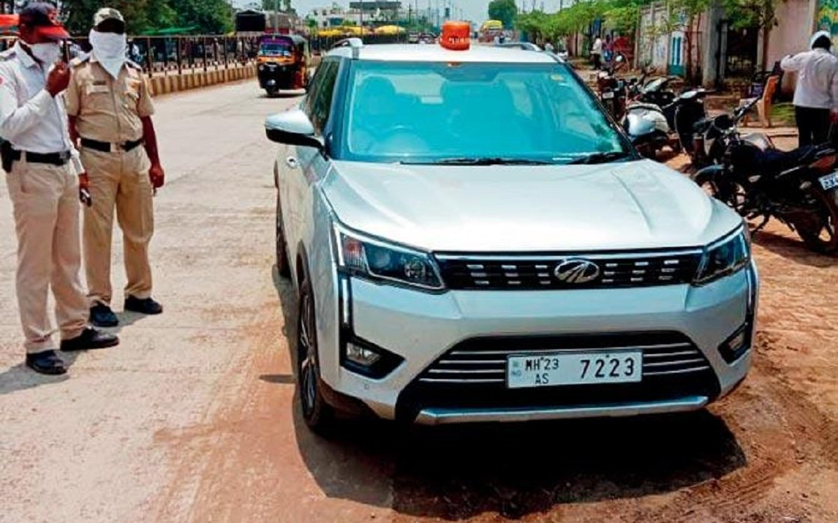 Maharashtra Sub Inspector Wrongful Probed Over Deputy Collector Car