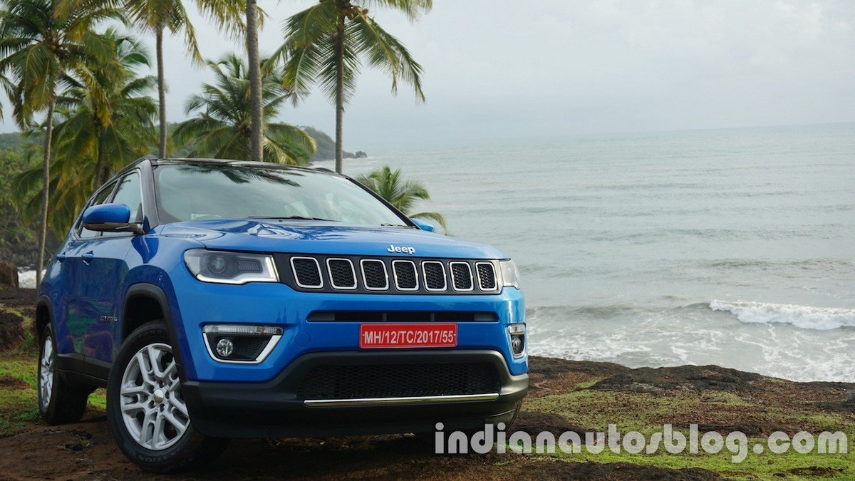 jeep compass front end