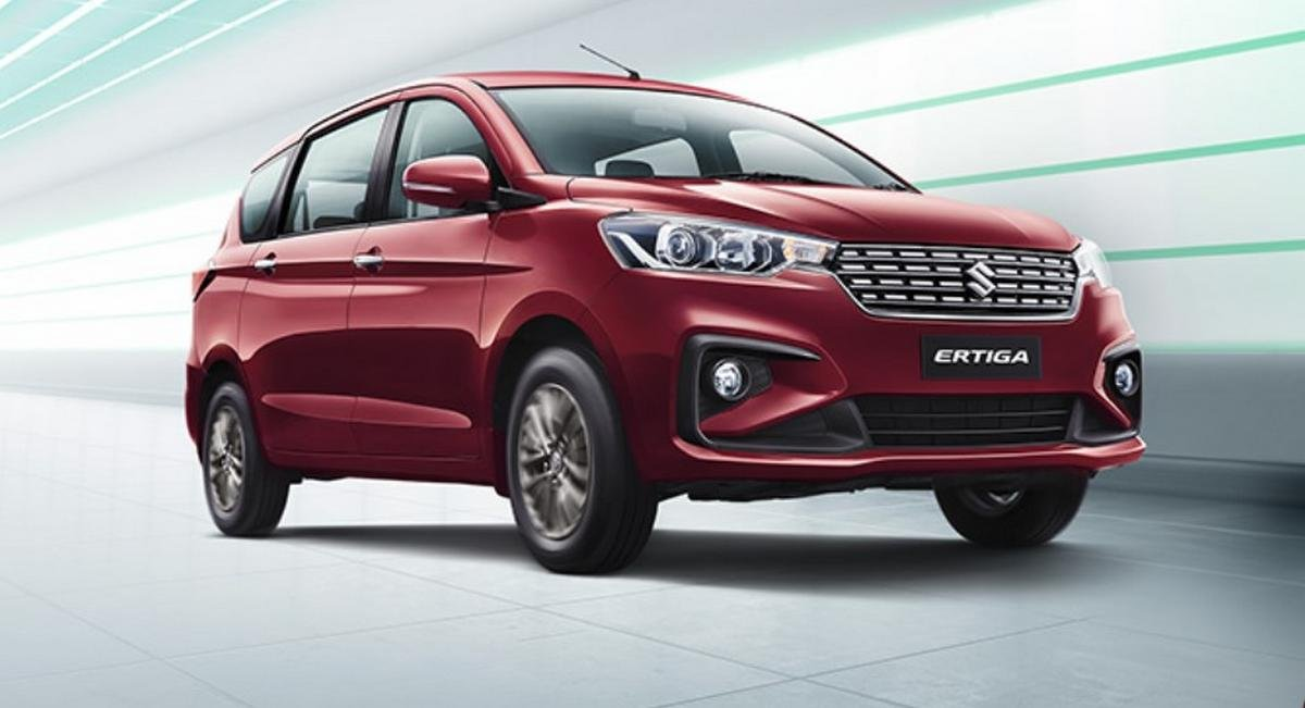 maruti ertiga front three quarters