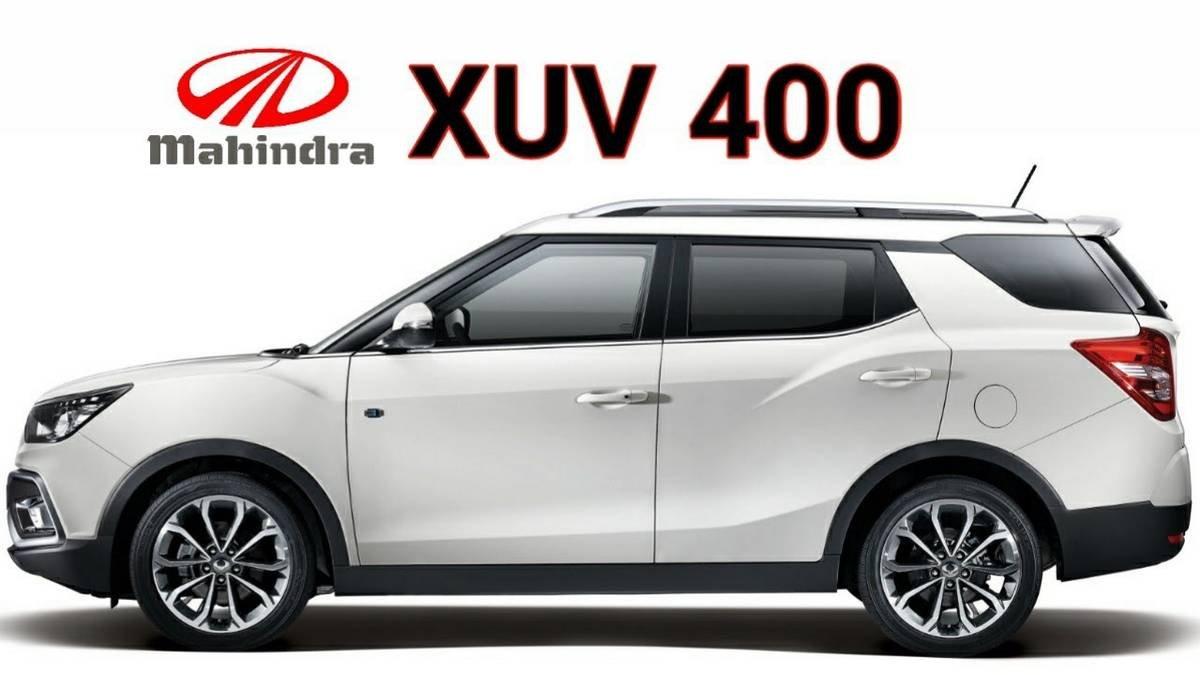 mahindra xuv400 side profile