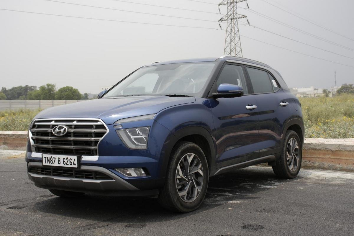 2020 hyundai creta front three quarters