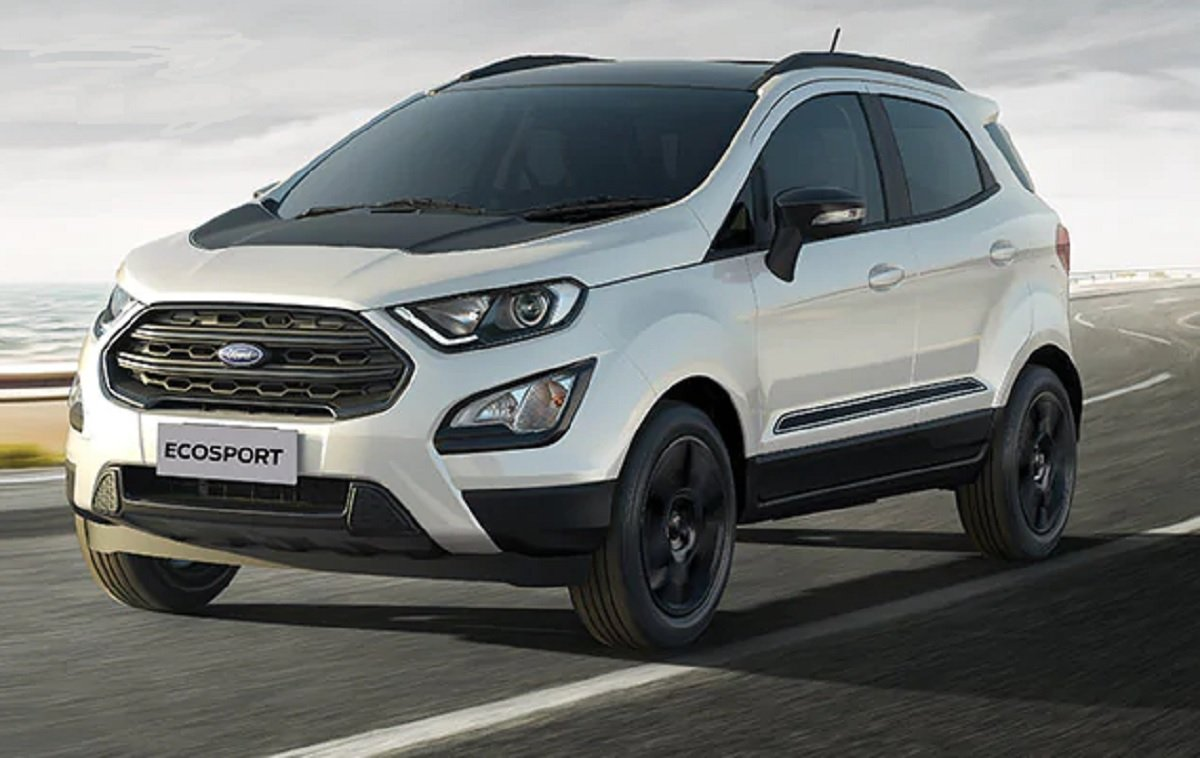 How About A Ford EcoSport With Monster Truck Underpinnings?