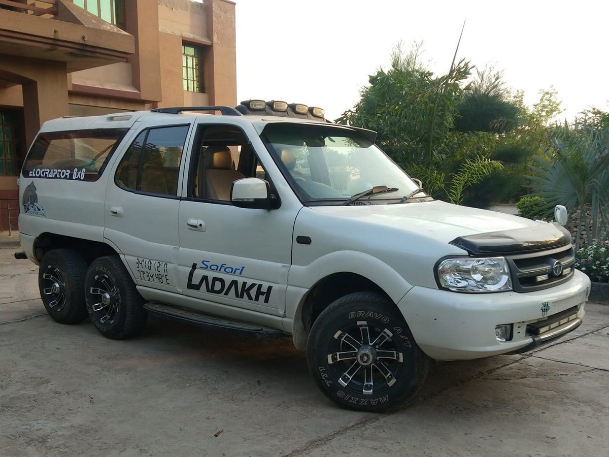 This Modified Tata Safari Dicor 6x6 Is The Only One Of Its Type