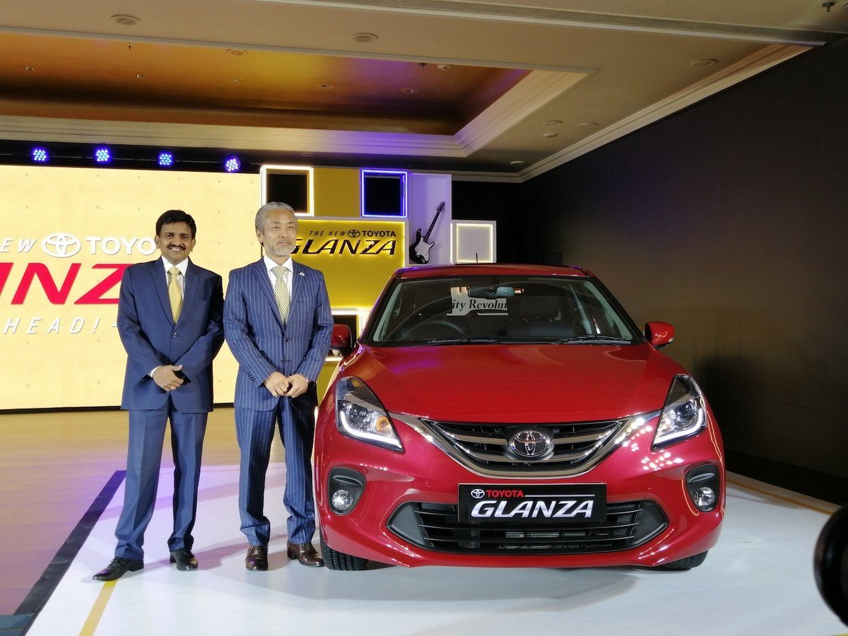 toyota glanza launch front end