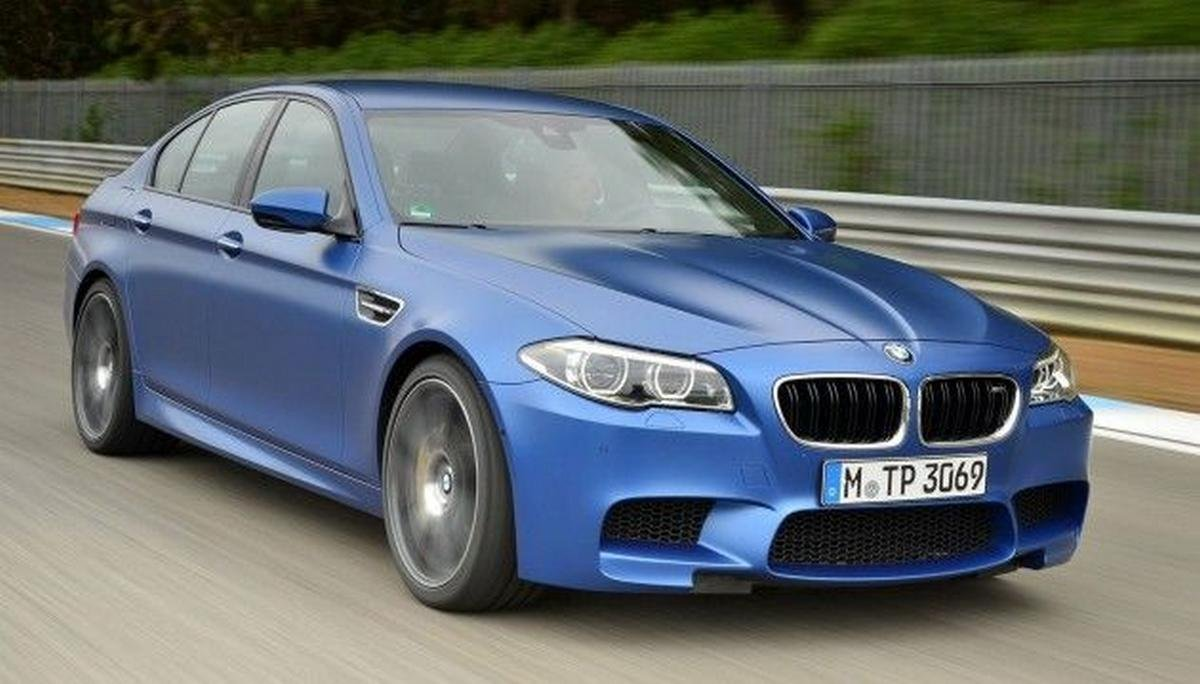 rohit sharma car collection bmw m5 front three quarters