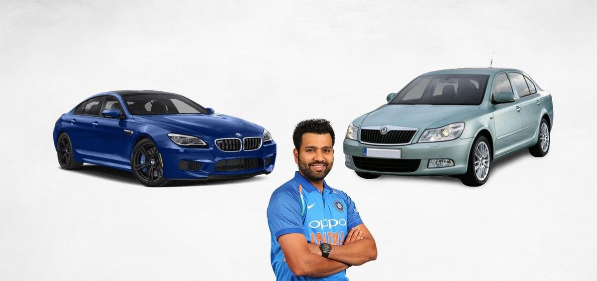 rohit sharma car collection image