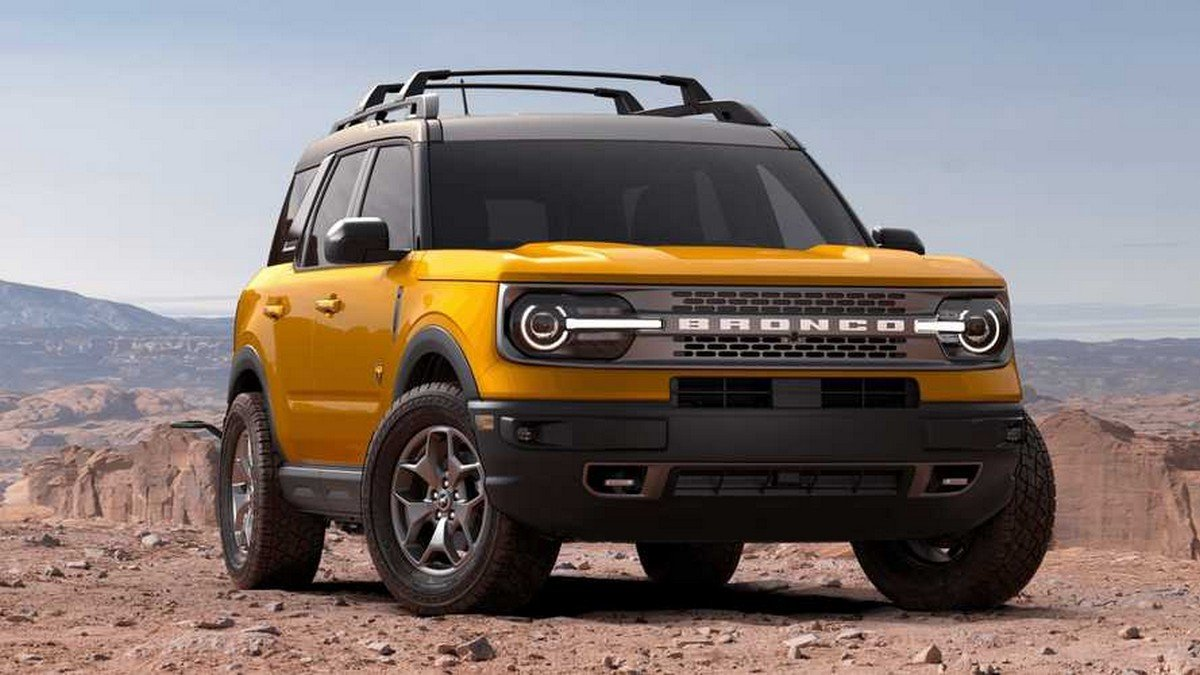 2021 ford bronco sport with accessories