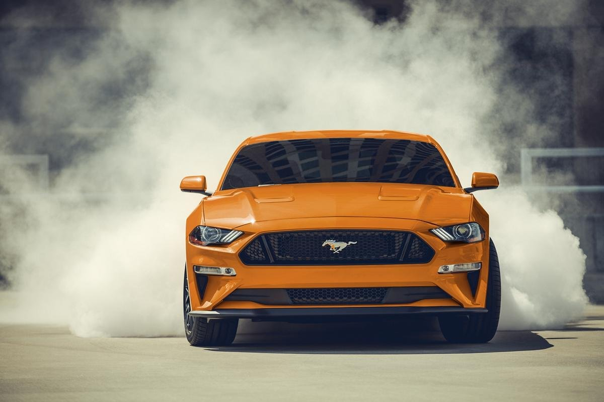 car logos with horse - 2020 ford mustang front grille
