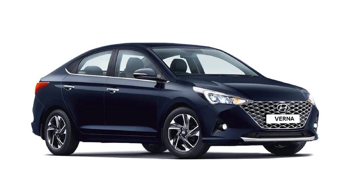 2020-Hyundai Verna-front-side