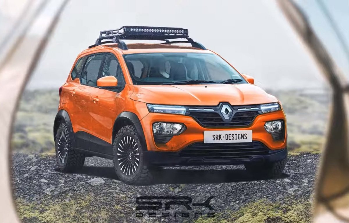 Renault Triber Adventure Edition Rendered With Brawny Body Kit & MT Tyres