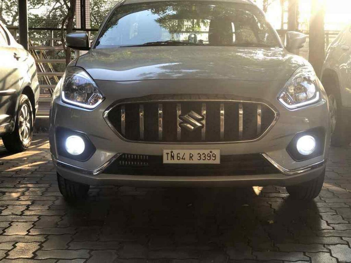 modified dzire s-cross grille front angle