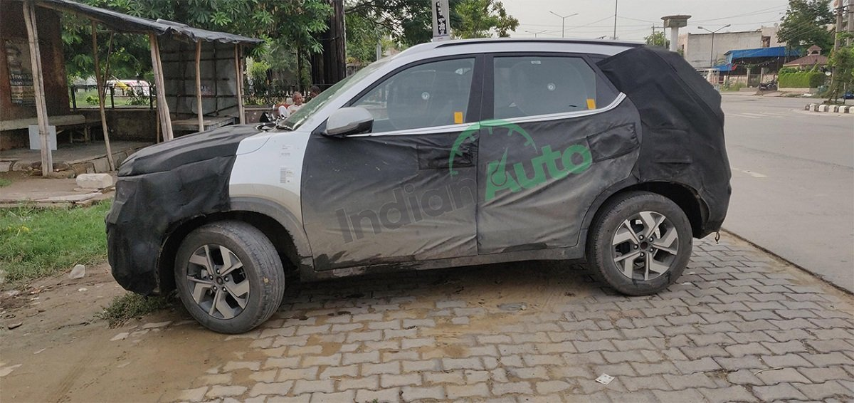 Kia Sonet Spotted; Many Details Revealed