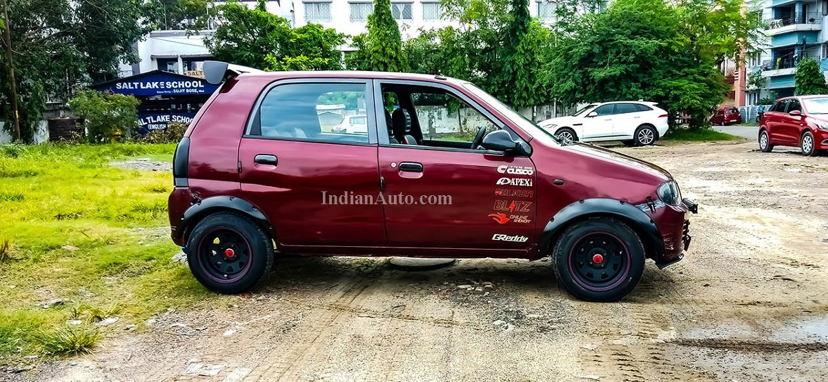 This Maruti Alto Is Modified To Be The Fastest One In The Country