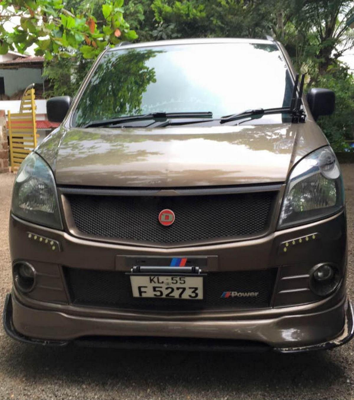 modified wagon r m power front angle