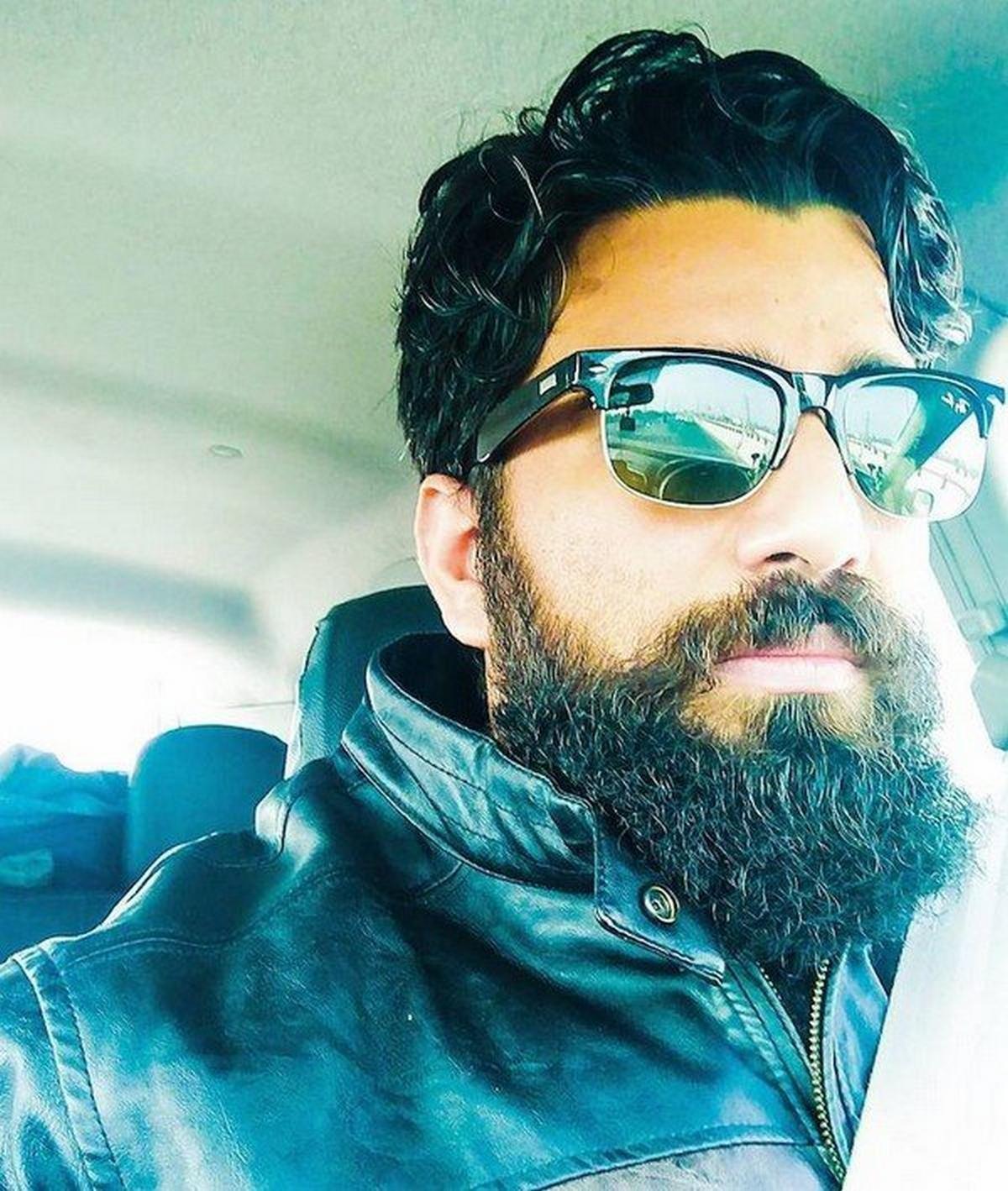 Nitish Kumar in his Ford EcoSport