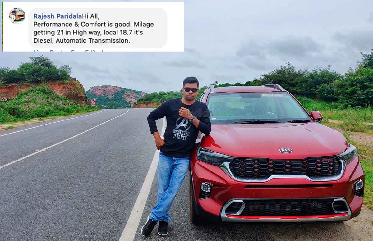 Kia Sonet Diesel AT Returns Upto 21 kmpl in Real World Conditions!