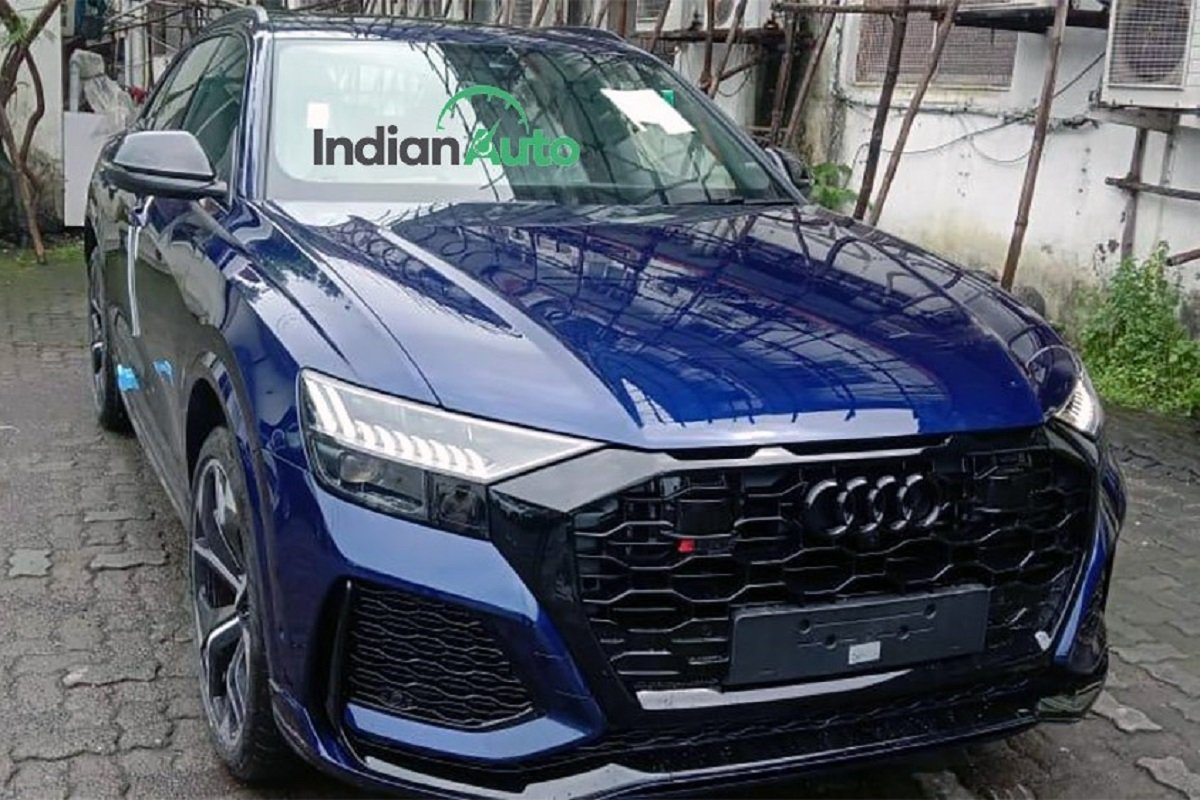 Audi RS Q8 Spotted At Dealership Ahead Of Its Launch This Month