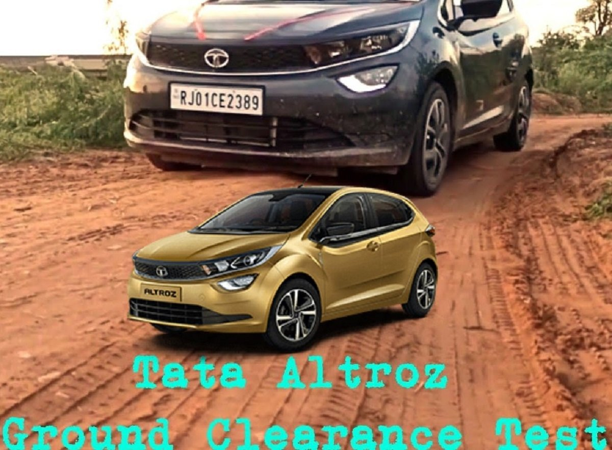 Tata Altroz's Ground Clearance Tested With 5 Occupants [VIDEO]