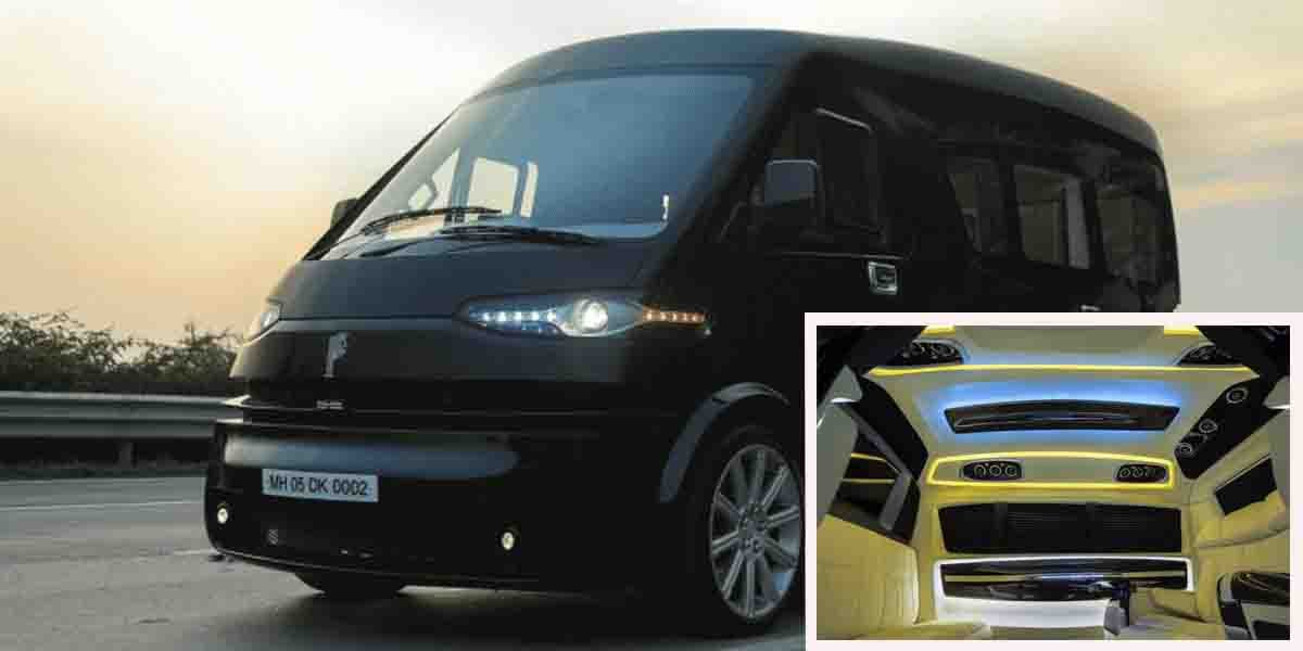 DC Modified Tata Winger Looks More Luxurious than a Mercedes S-Class
