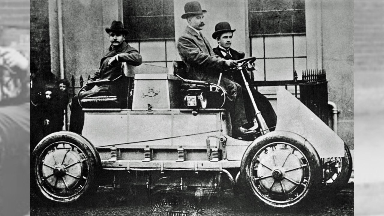 one of the first hybrid cars