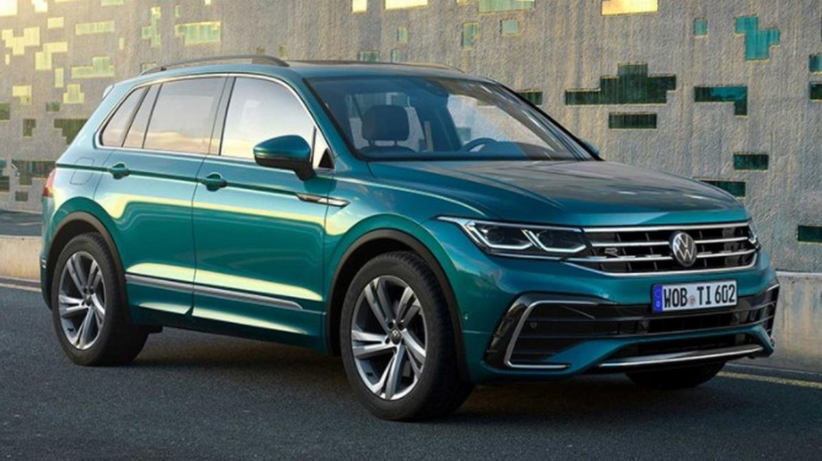 vw tiguan 2021 front three quarters