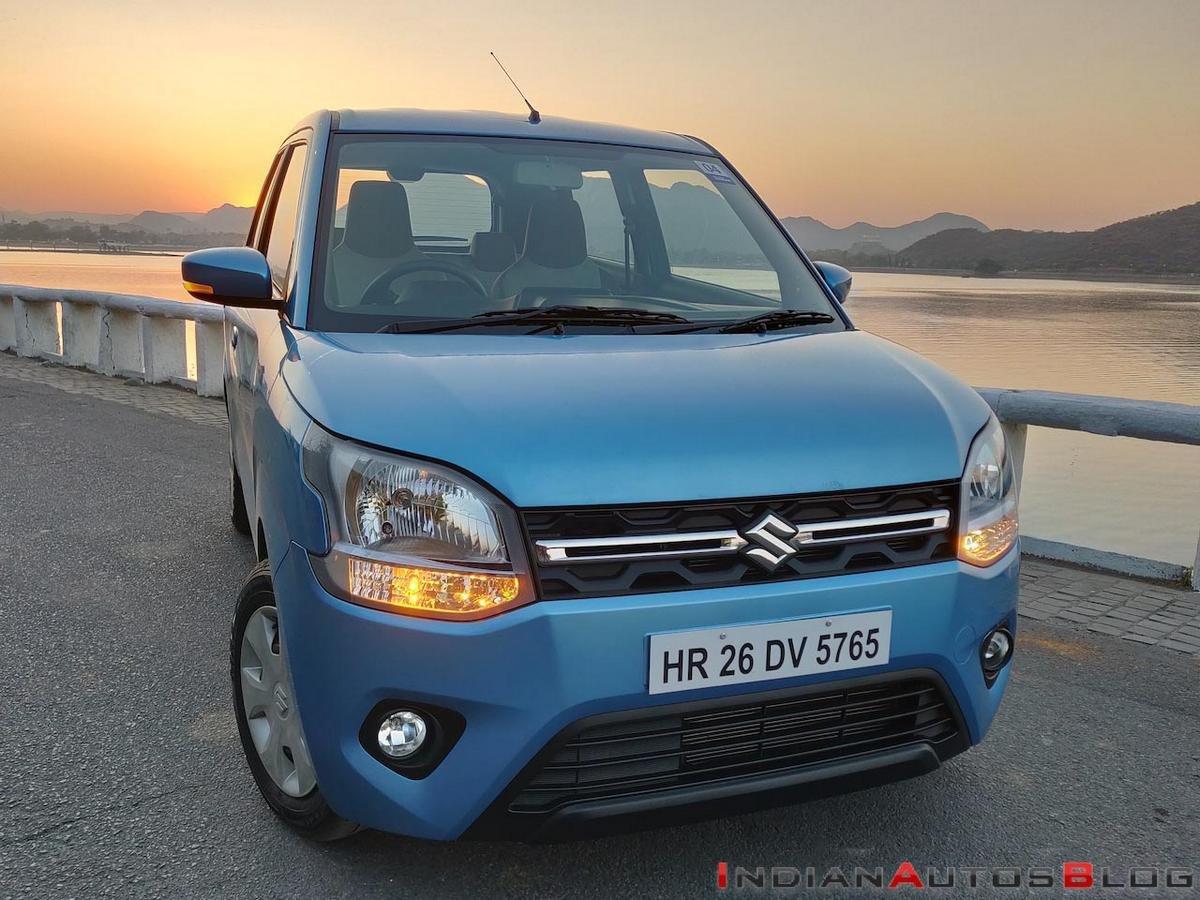cheapest automatic cars - maruti wagon r front angle