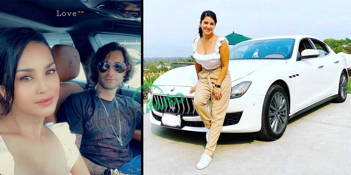 Actress Sunny Leone Buys Maserati Ghibli In USA, Shares On Instagram