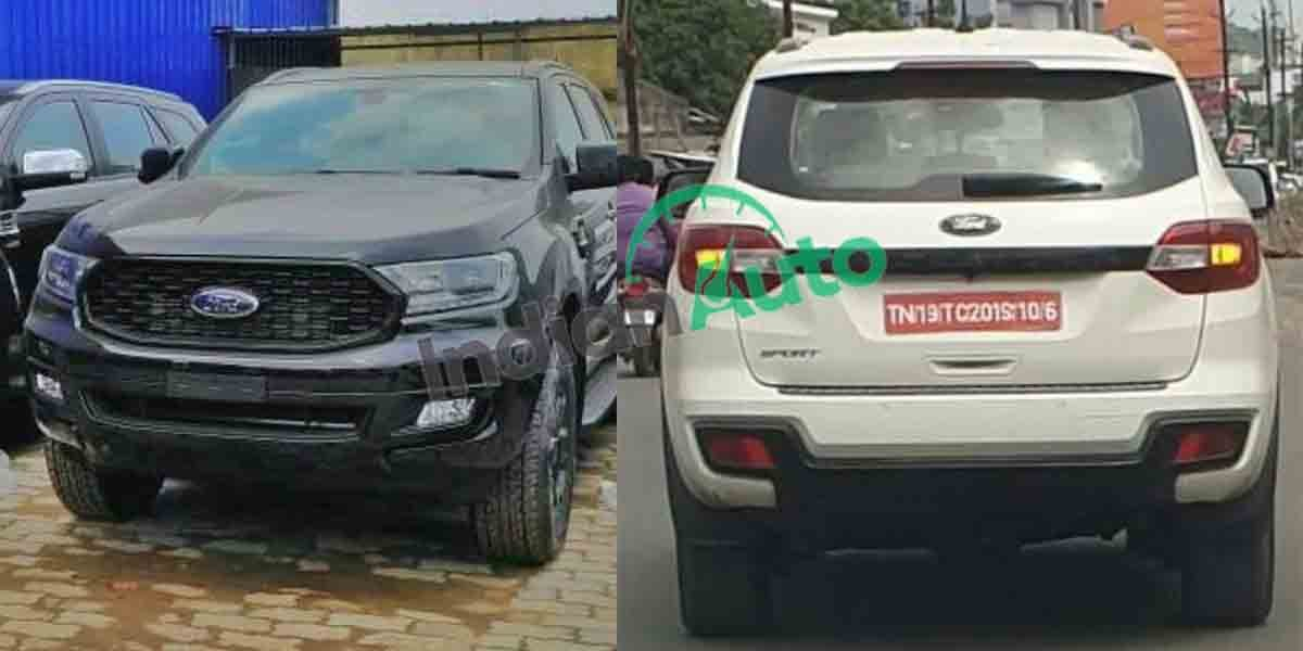 Ford Endeavour Sport Spied, Should Launch Before Refreshed Toyota Fortuner