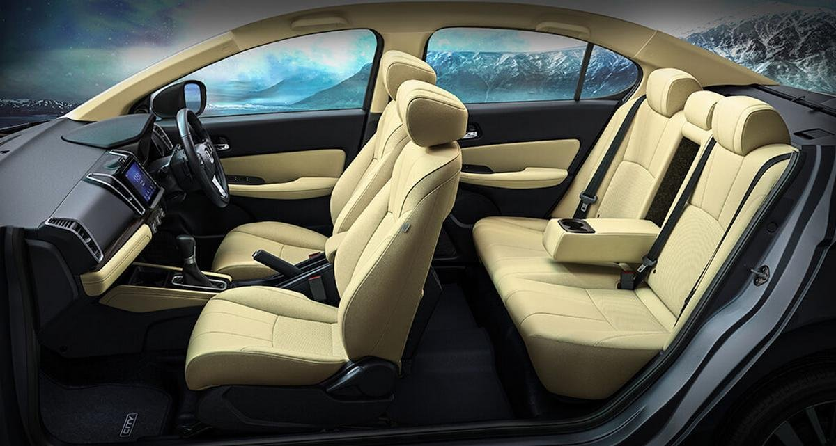 2020 honda city cabin layout
