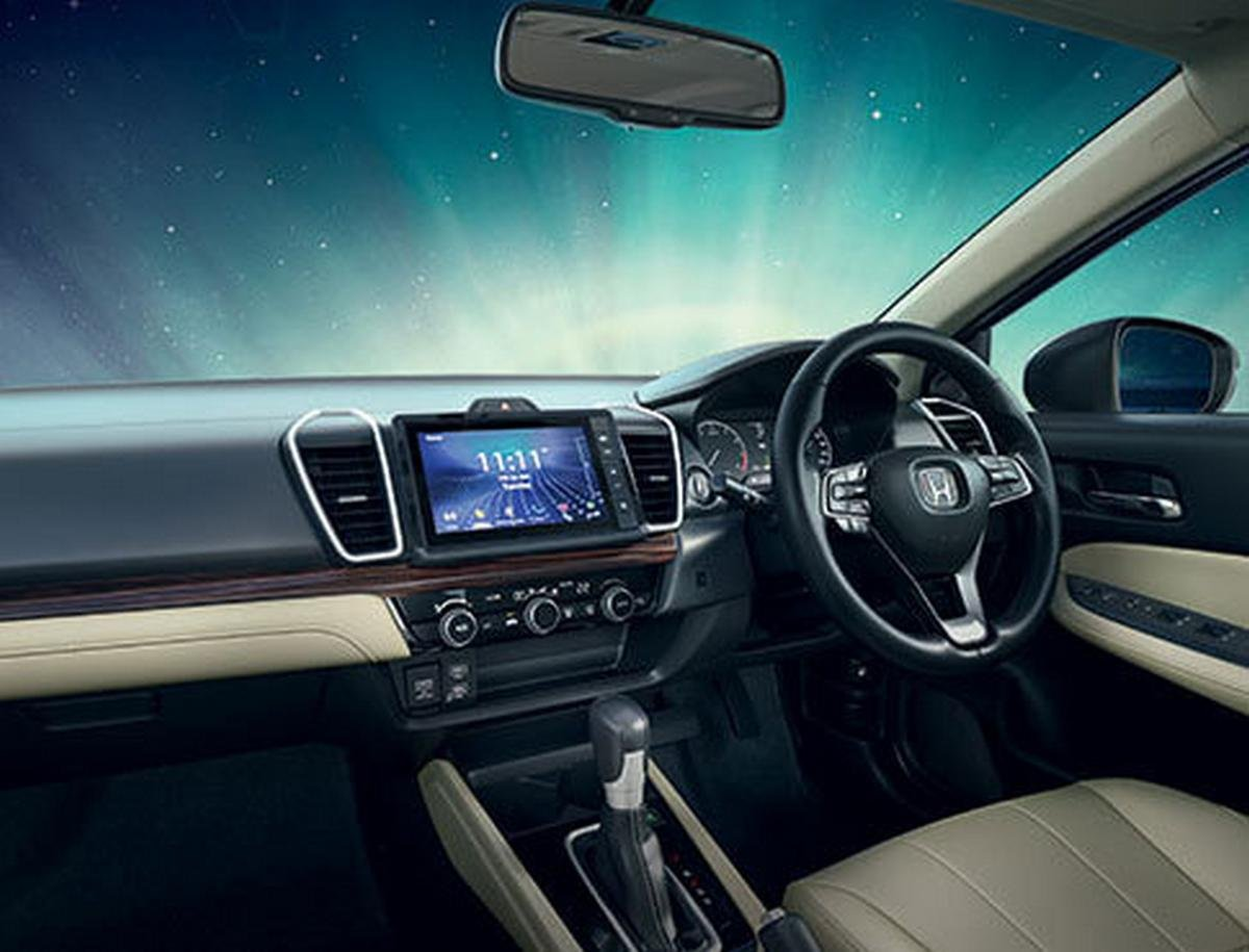 2020 honda city interior dashboard layout