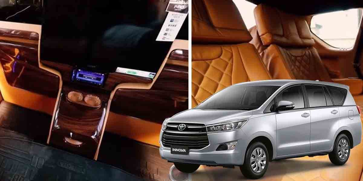 Modified Toyota Innova Crysta Lounge Gets First-class Cabin