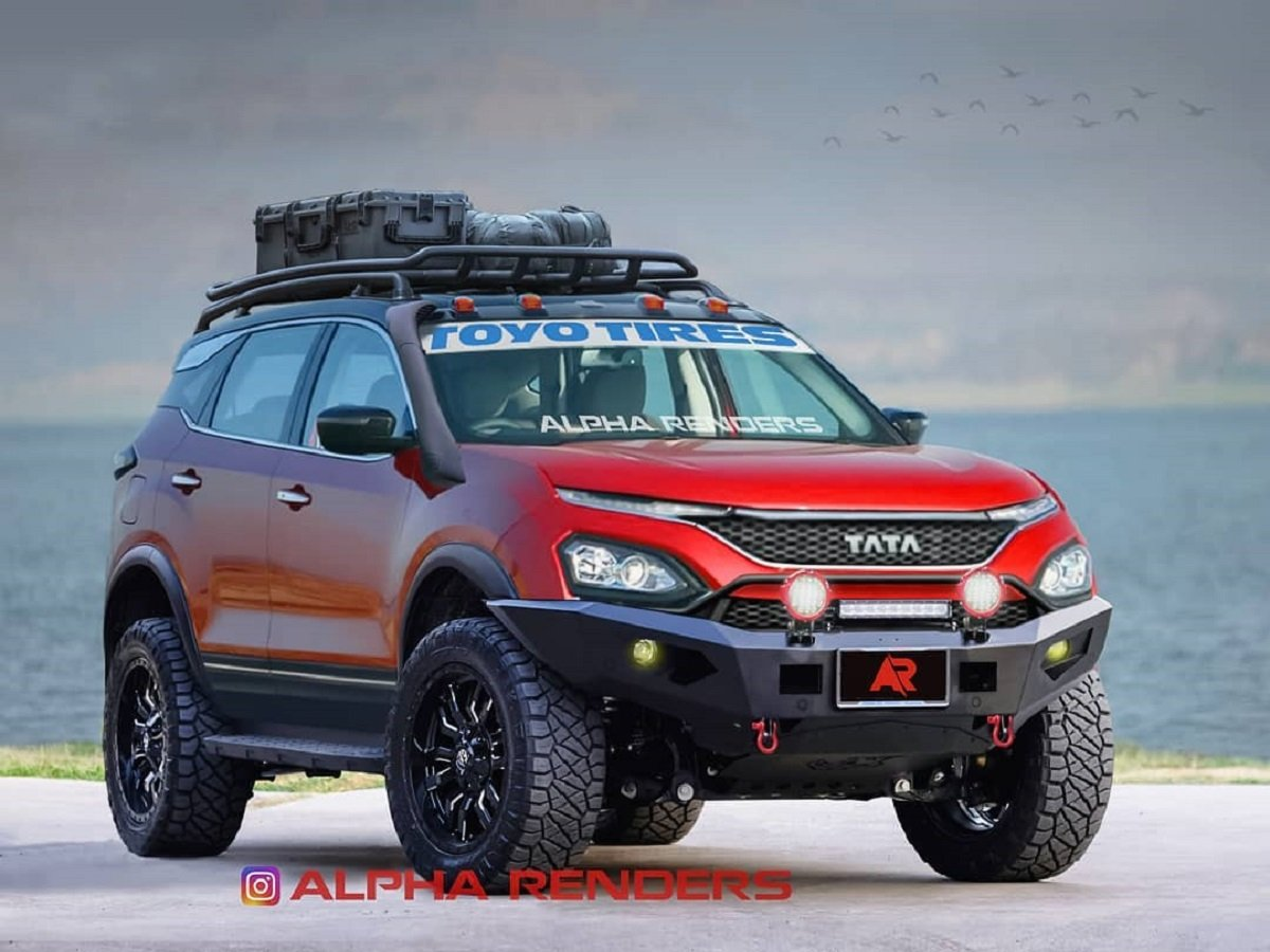 This Modified Tata Harrier Looks Ready To Climb Everest