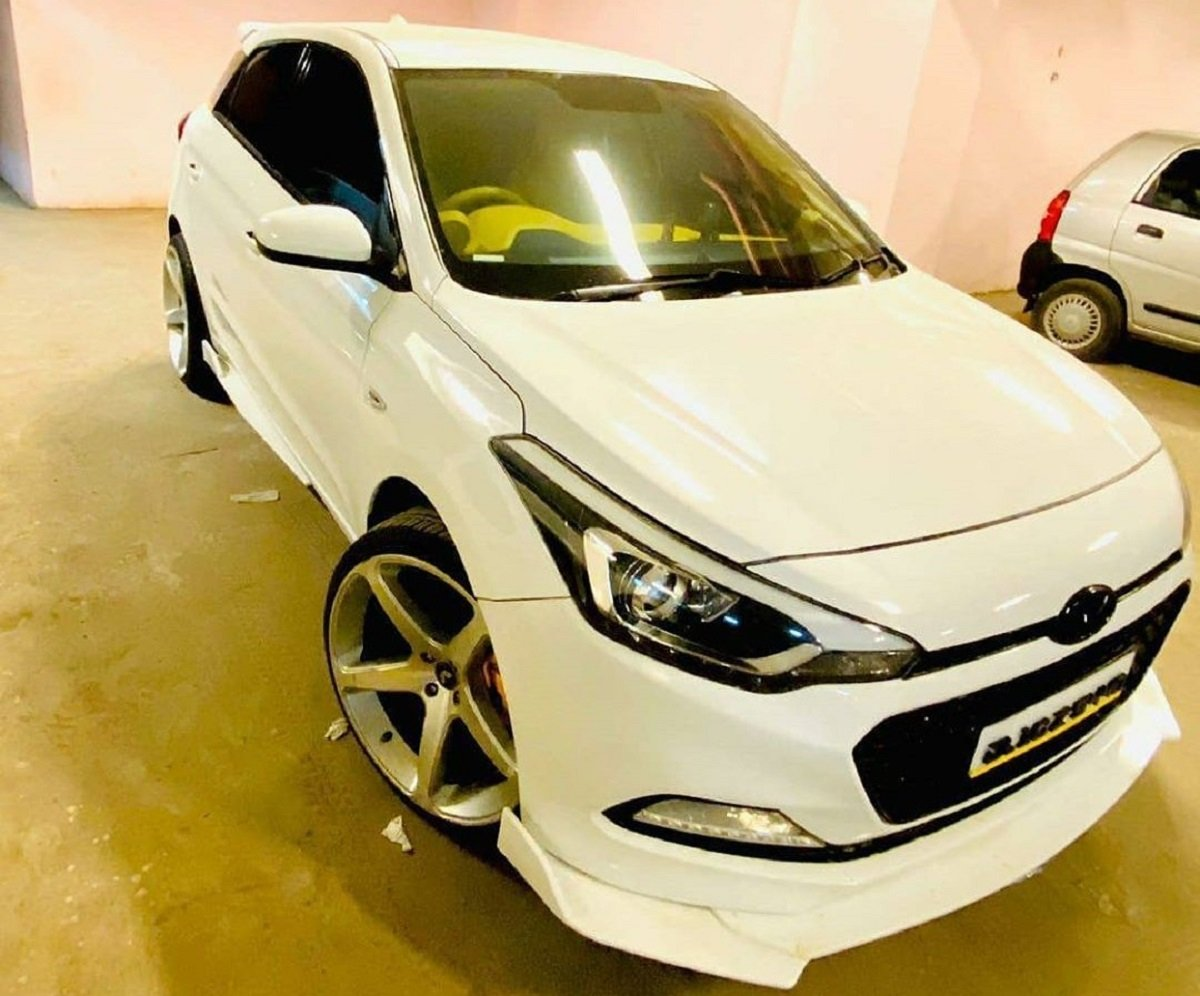 This Hyundai Elite i20 Rides On 20-inch Rims, Gets Rs. 10 Lakh Music System