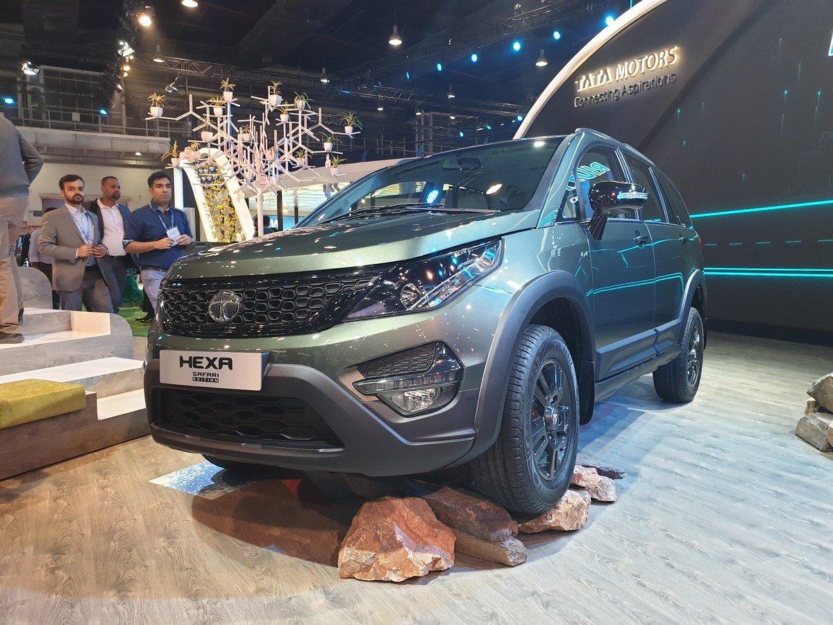 tata hexa safari three quarter auto expo 2020