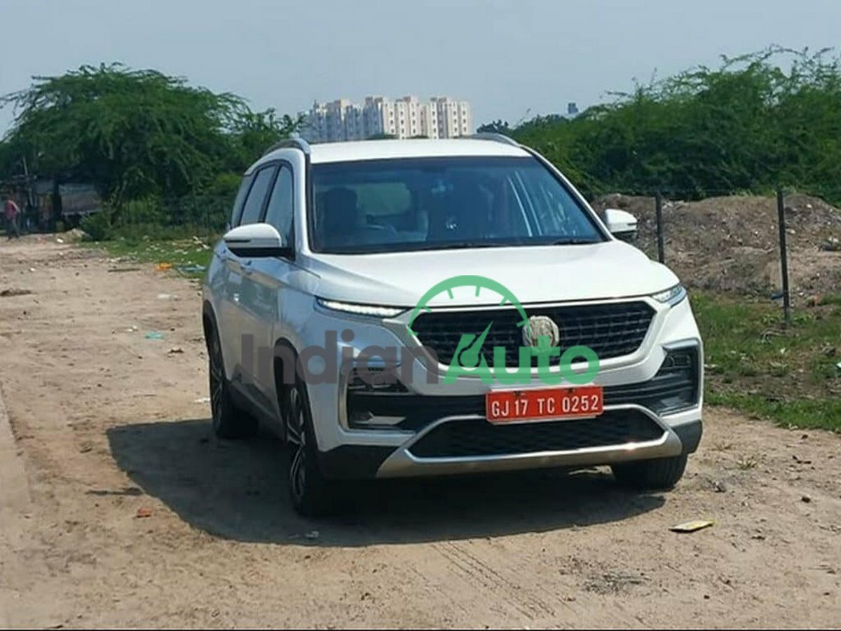 Front-end-of-MG-Hector-Diesel