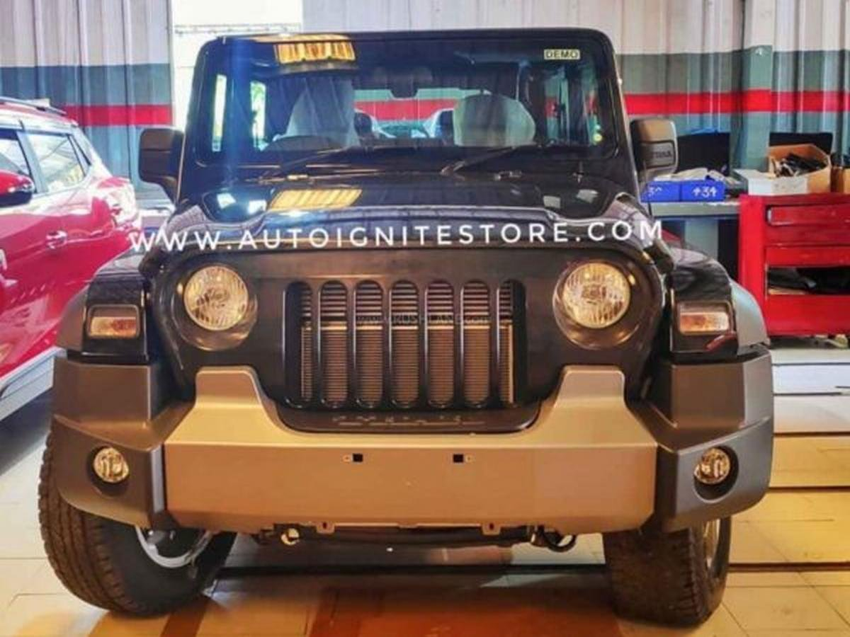 First Ever Modified 2020 Mahindra Thar With Jeep Grille This Is It