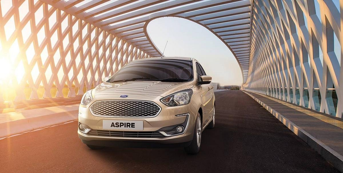 ford aspire front angle