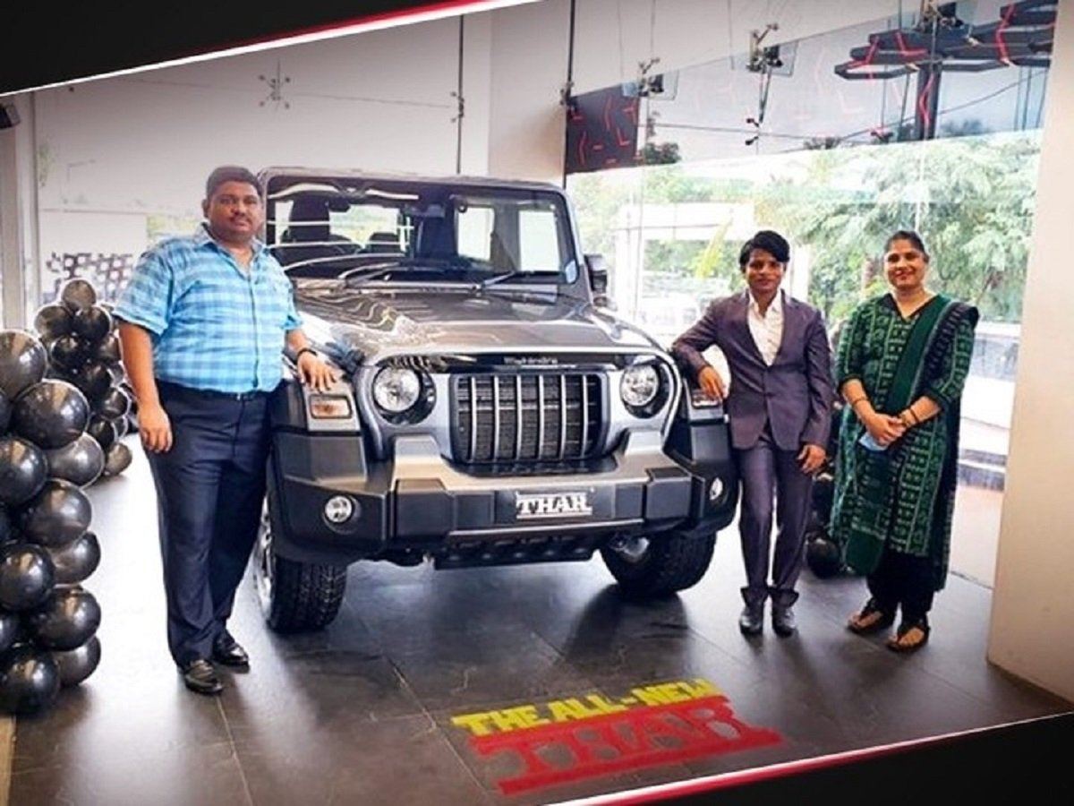 Fastest Indian Woman Checks Out New Mahindra Thar