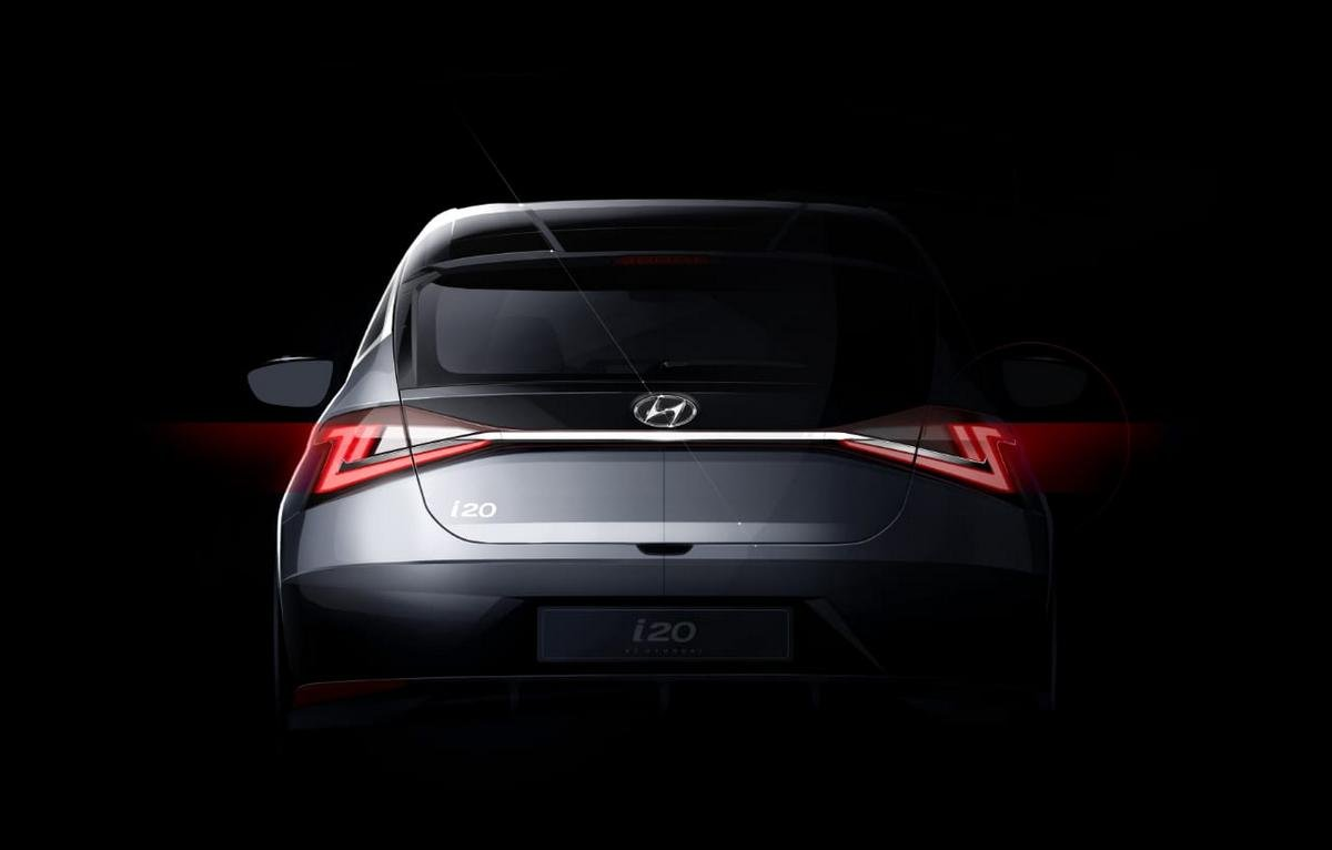 new hyundai i20 sketch image rear angle