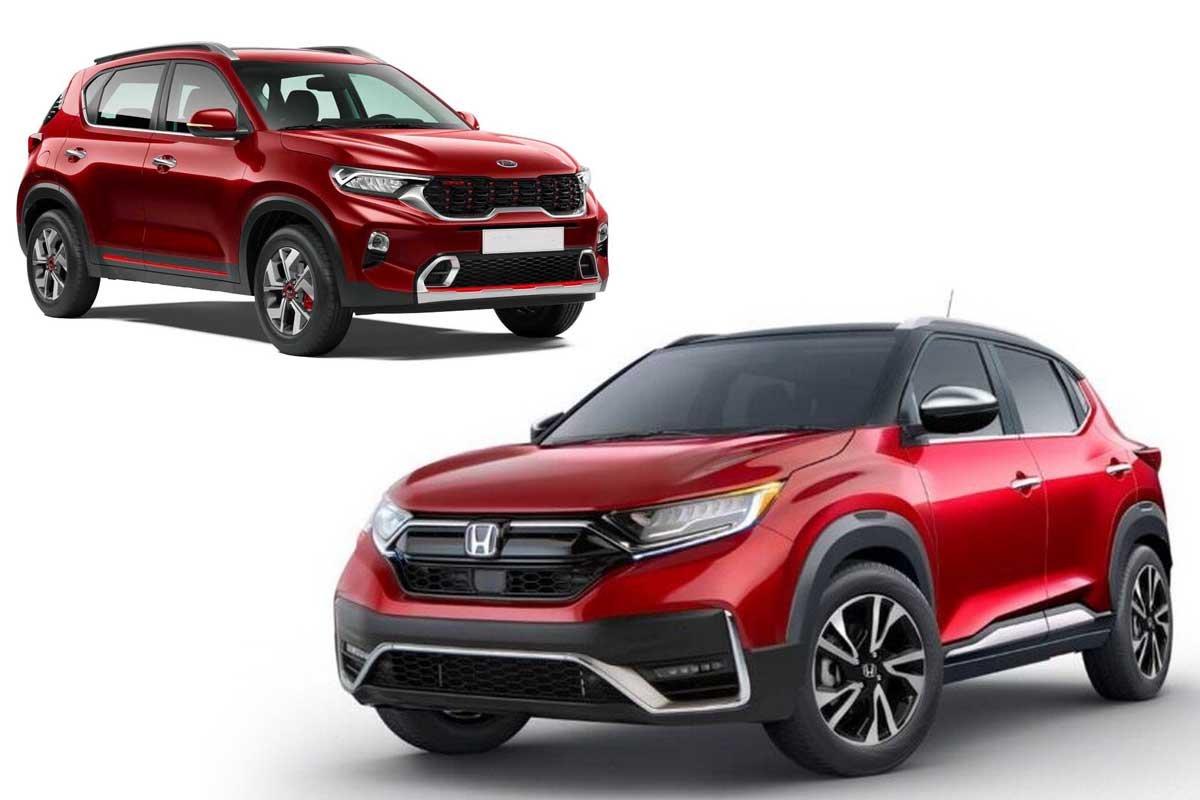 Honda ZR-V Imagined, To Rival Kia Sonet and Hyundai Venue