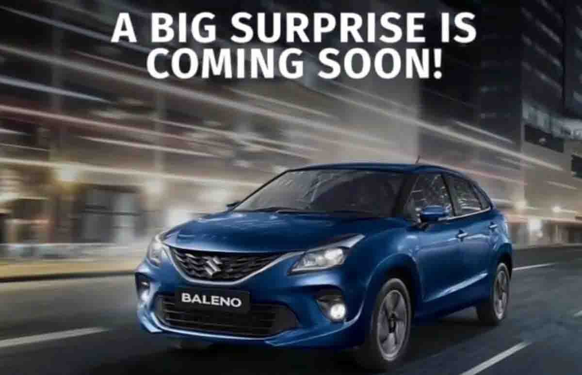Maruti Baleno to Get a Significant Update, Teaser's Out!