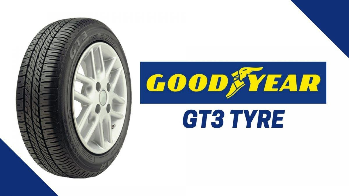 best car tyre brands in India - goodyear gt3 image