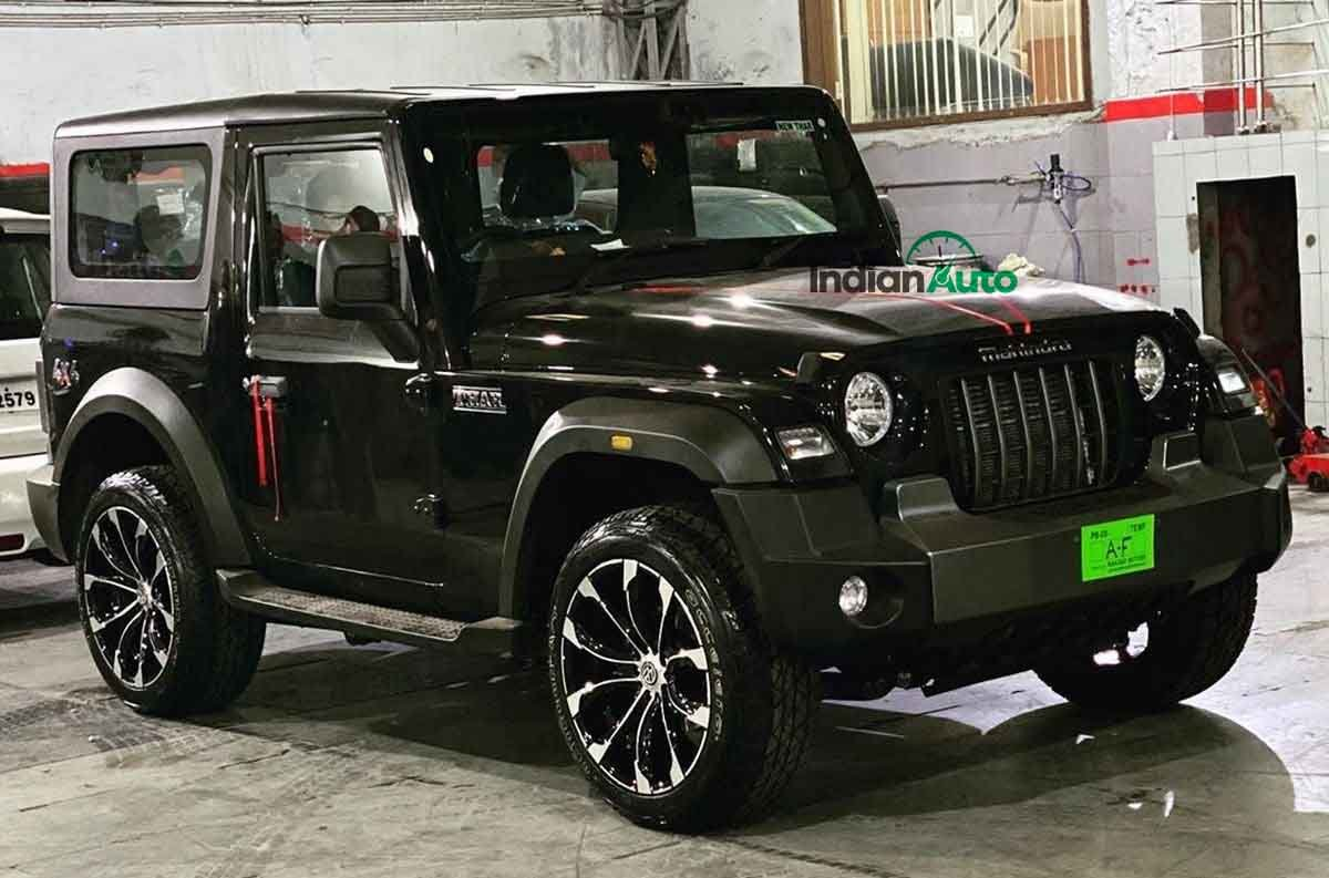 FIRST-EVER New Mahindra Thar With MASSIVE 20-inch Alloy Wheels