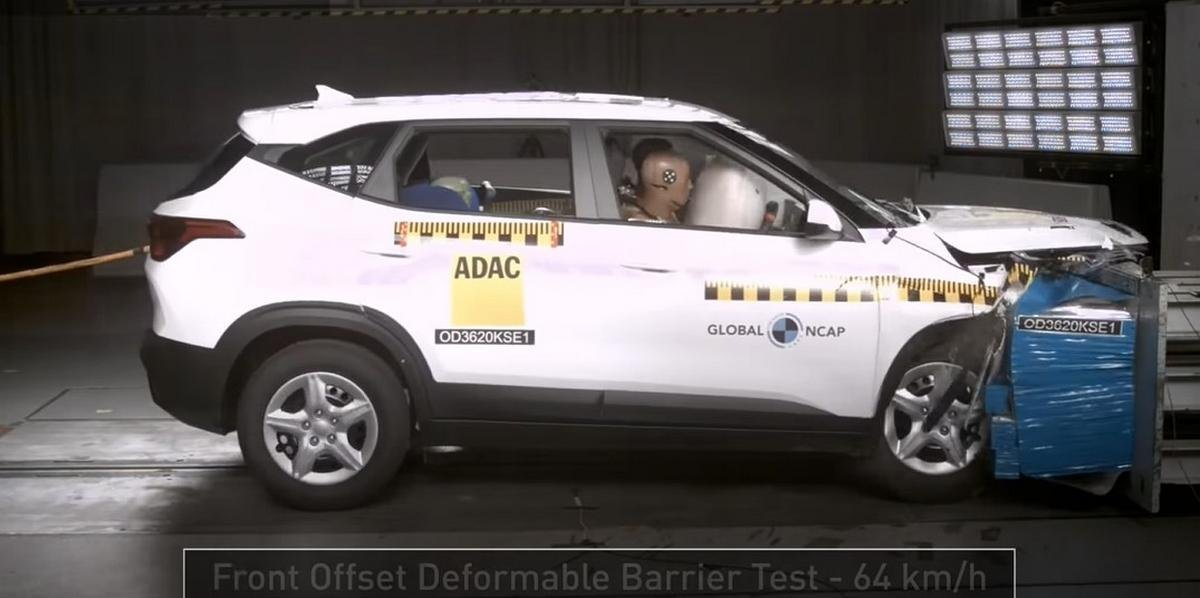 Kia Seltos global ncap crash test