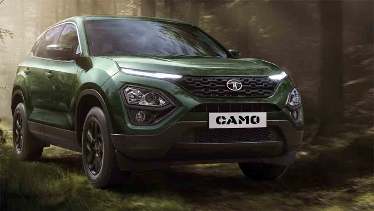 Tata Harrier NOW AVAILABLE in Special 'Camo' Livery