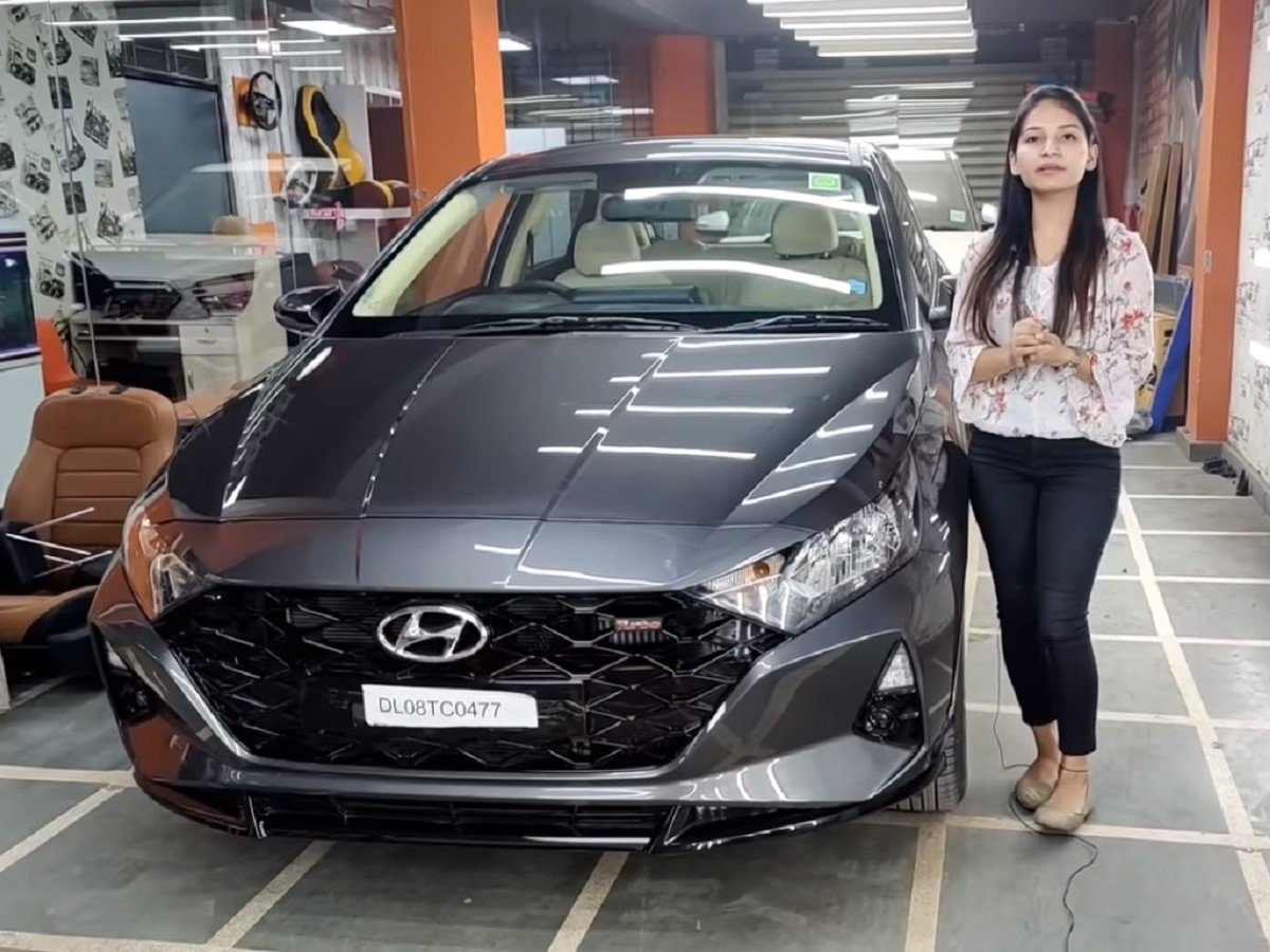 First-Ever All-new Hyundai i20 With Modified Interior
