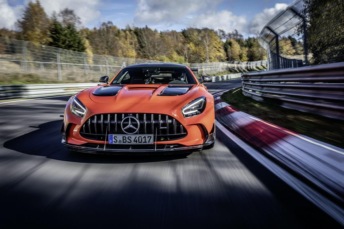 mercedes-amg gt black series front angle