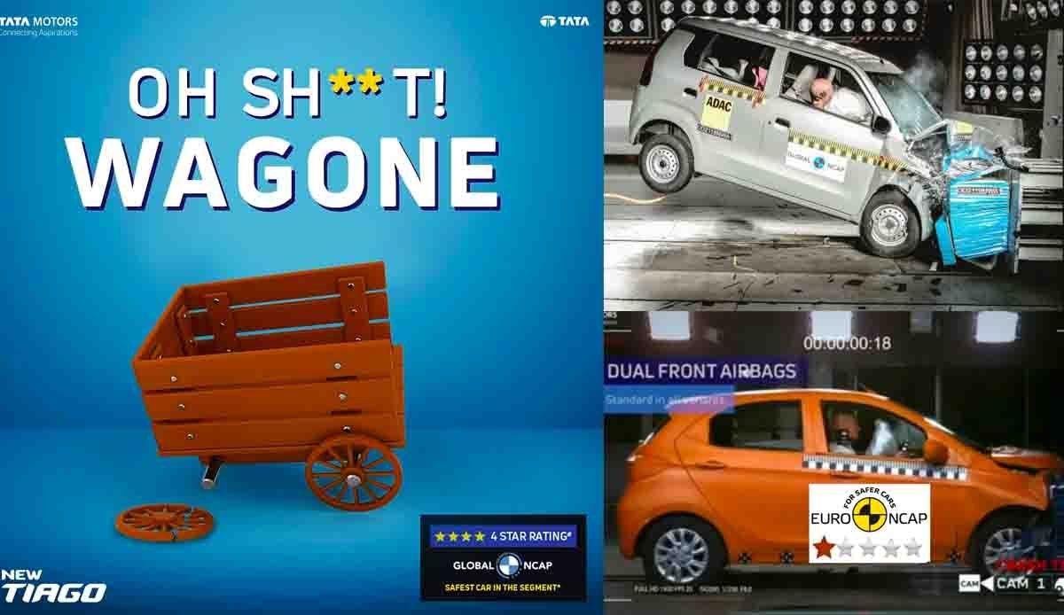 After S-Presso, Tata Motors Roasts WagonR to Promote TIago
