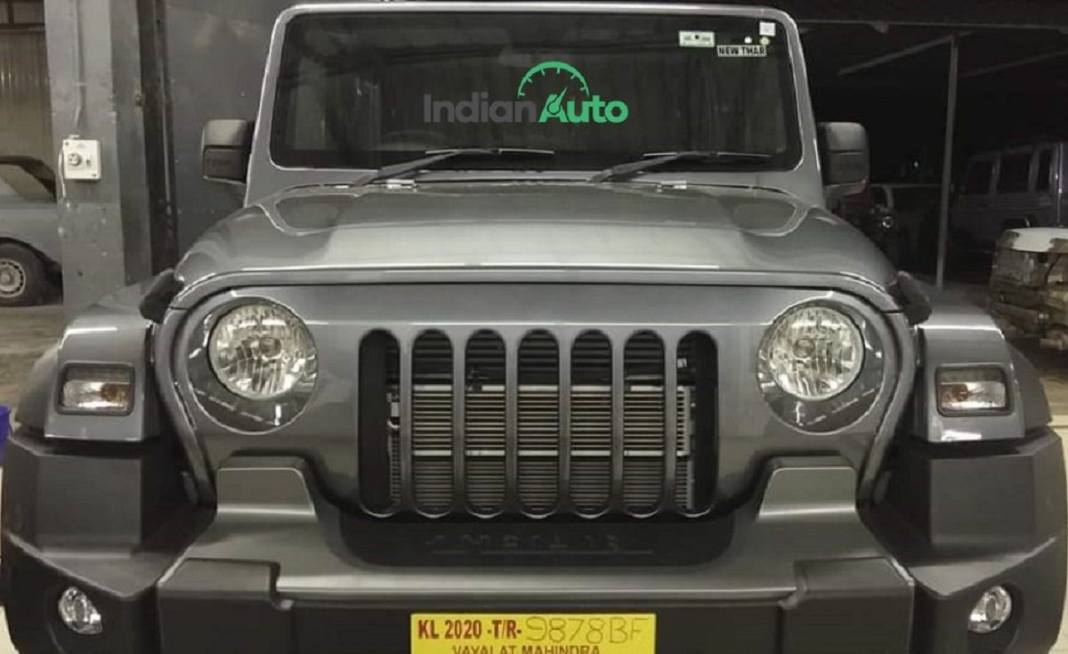 First-ever All-new Mahindra Thar With Jeep Grille is Here, Looks Phenomenal